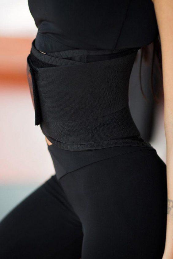 Корсетный фитнес-пояс SILVER