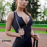 Спортивный комбинезон PUSH-UP BLACK